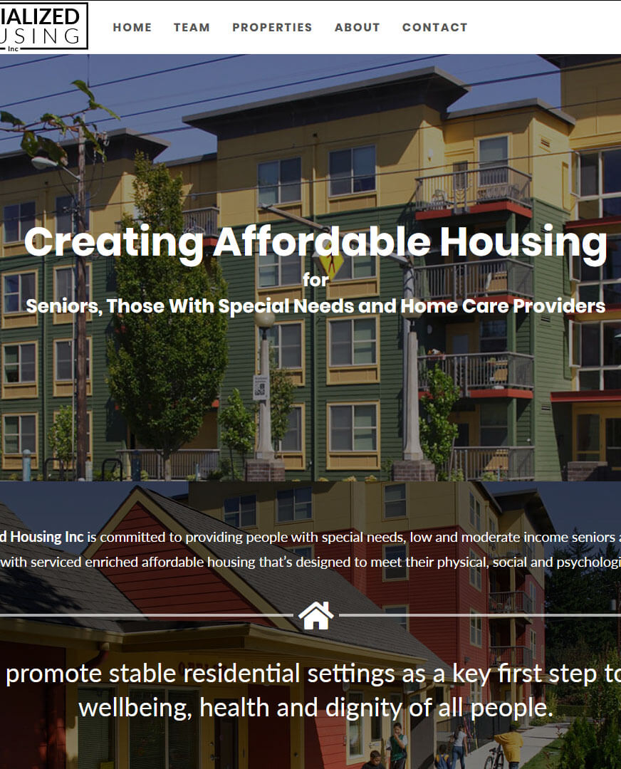 Specialized Housing Inc.